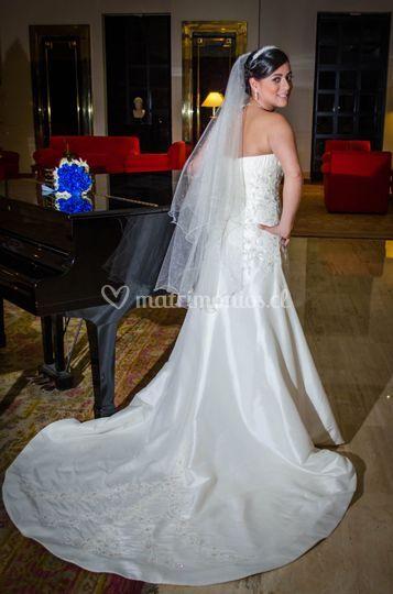 La novia antes del matrimonio