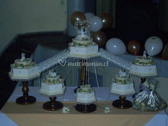 Mesa de pasteles