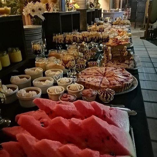 Nuestro buffet