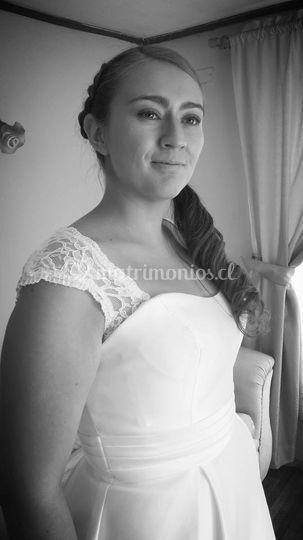 Paulina Morales la novia