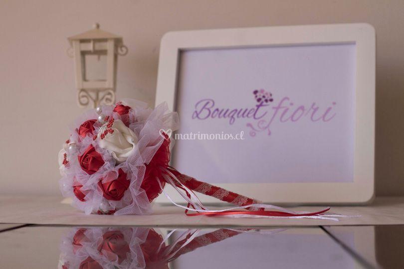 Fino bouquet en tela
