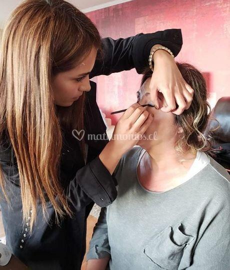 Maquillaje madrina