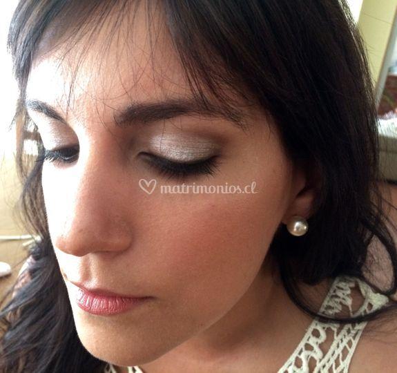 Maquillaje civil novia romina