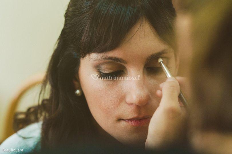 Maquillaje novia romina