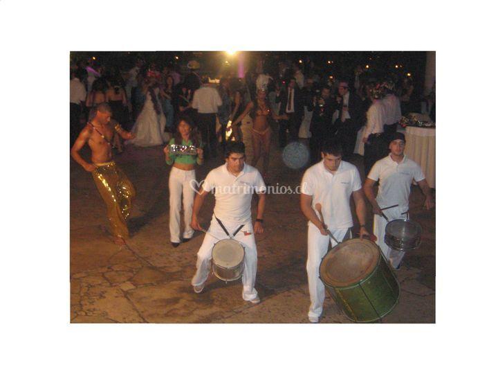 Percusión sambas masiñas