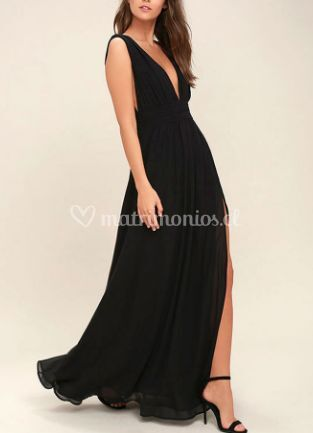 Maxi dress negro
