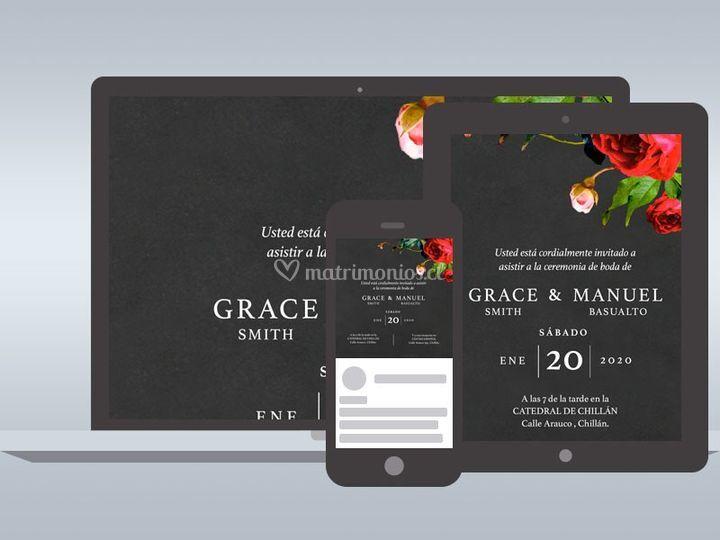 Invitaciones Online - Grace