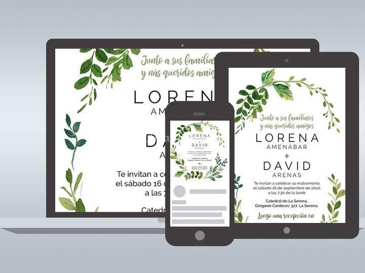 Invitaciones Online - Lorraine