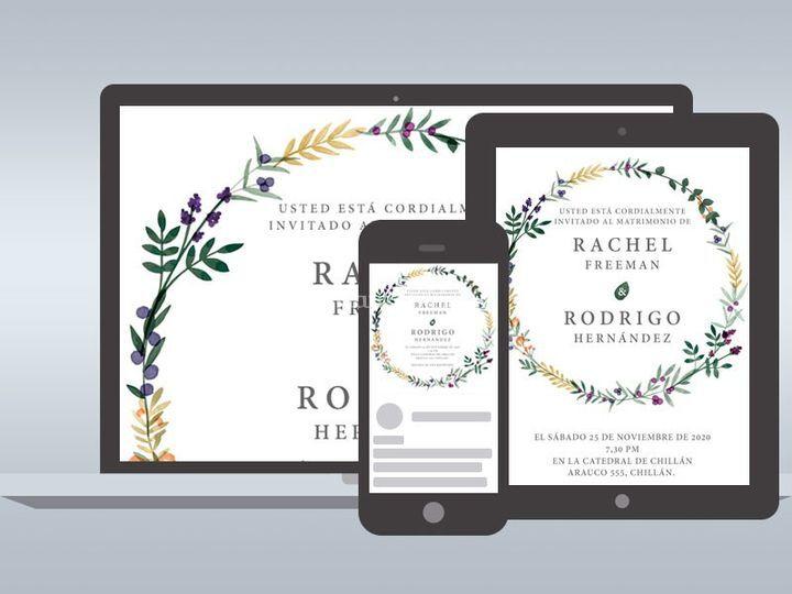 Invitaciones Online - Rachel