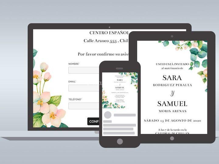 Invitaciones Online - Sarah