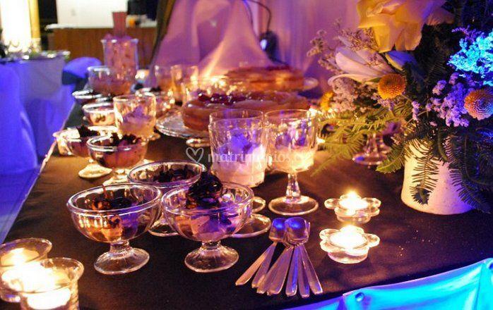 Iluminación de la mesa