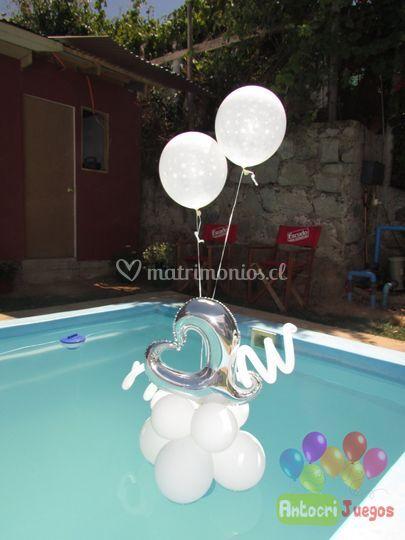 Decoración de piscina