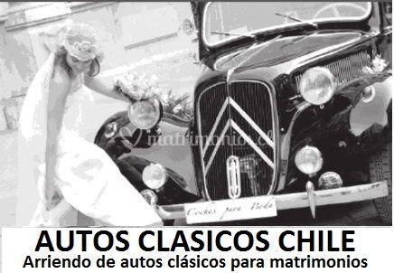 Logo autos clásicos Chile
