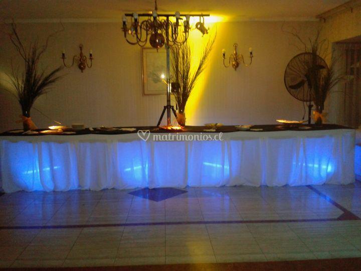 Iluminación de matrimonio