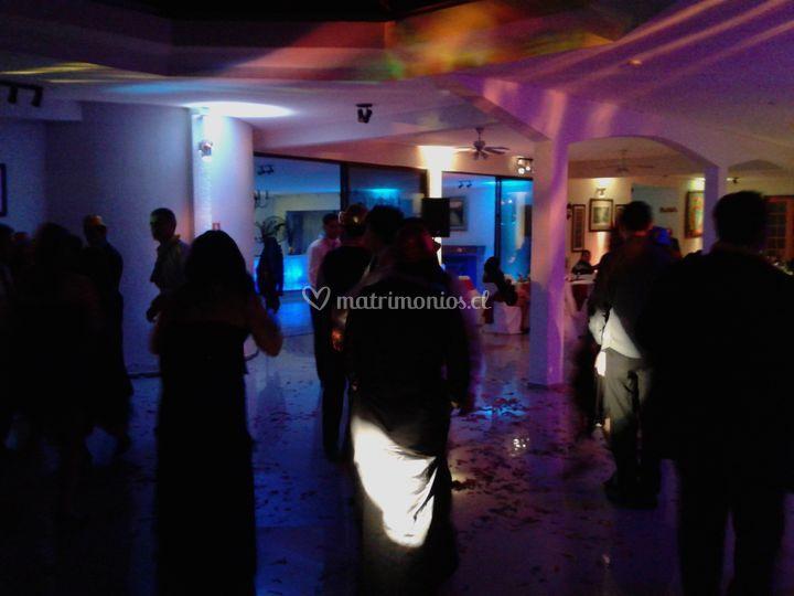 Iluminación baile