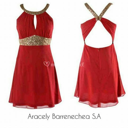 Vestido rojo Código:008
