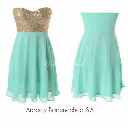 vestido corto Código:002
