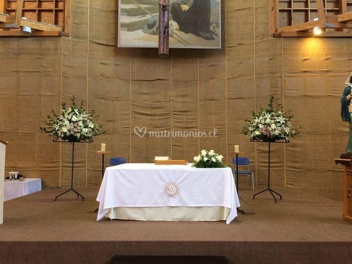 Arreglos altar
