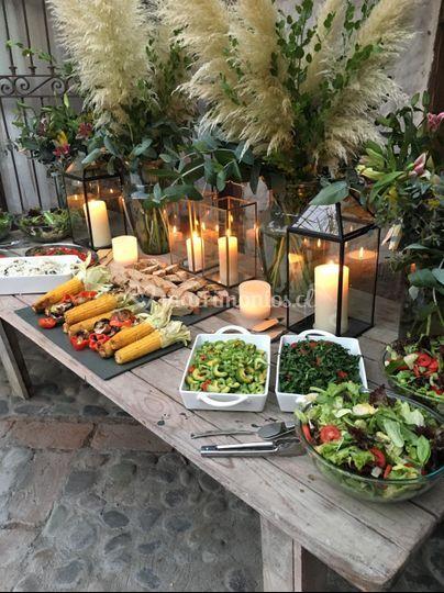 Buffet de ensalada