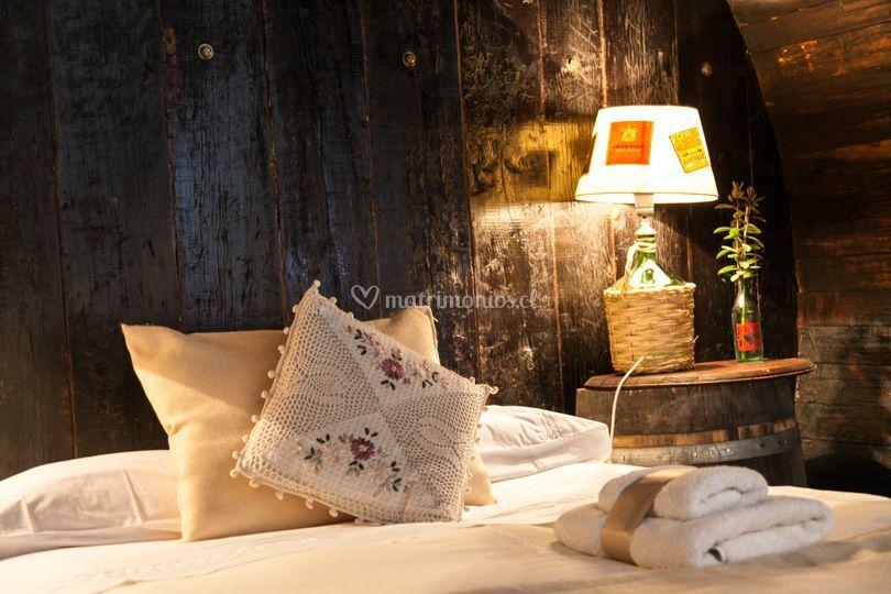 Ambientación dormitorios