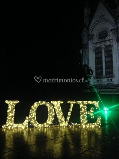 Letras Love 60x60