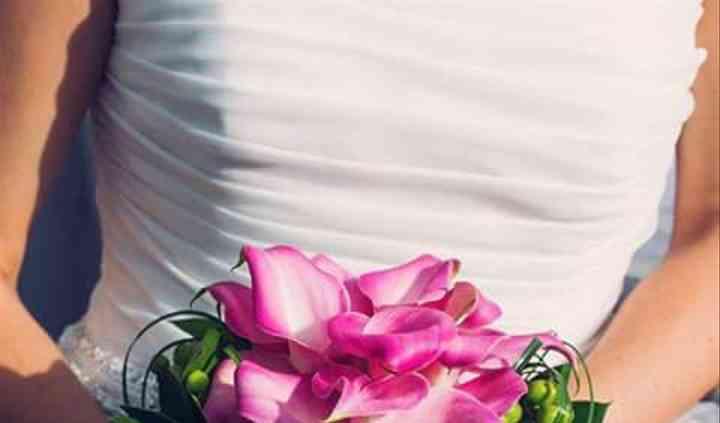 Ramo de novia con mini calas