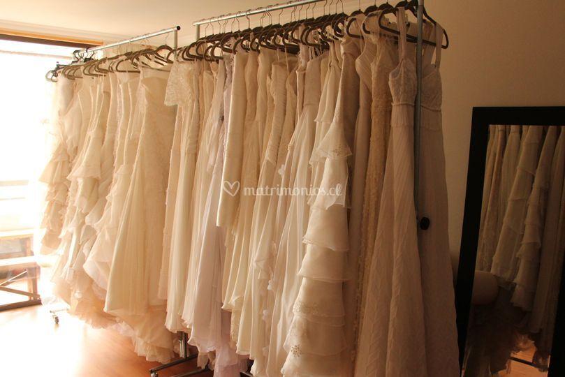 Stock de vestidos