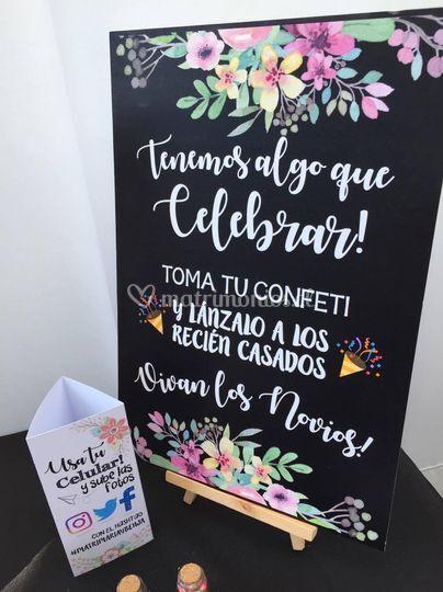 Cartel Confeti