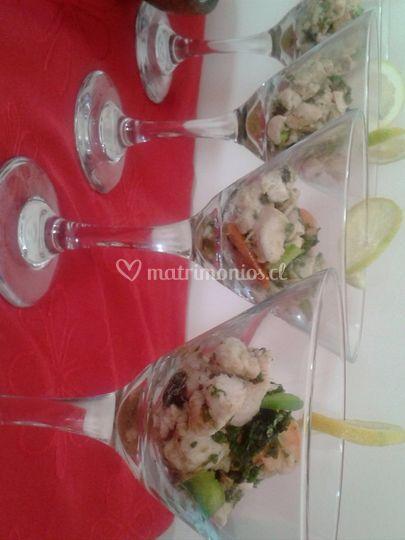 Cristalería martini