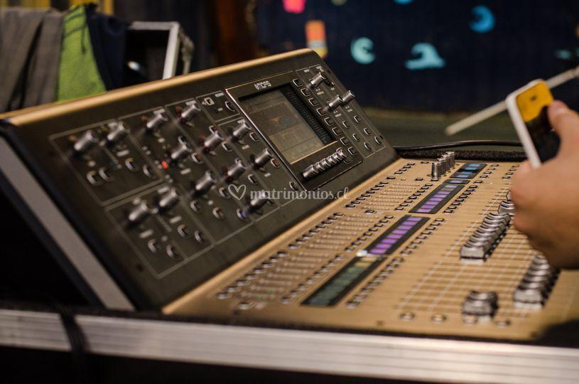 Mesa de sonido digital