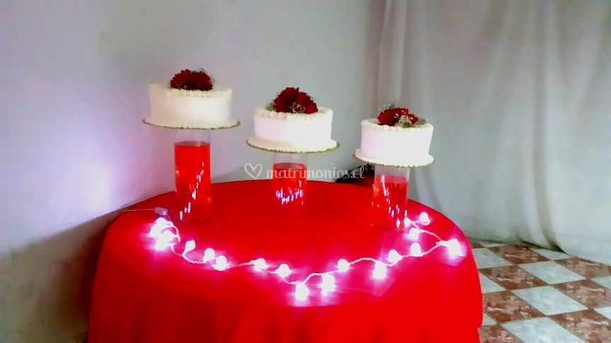 Pastel para 60 personas