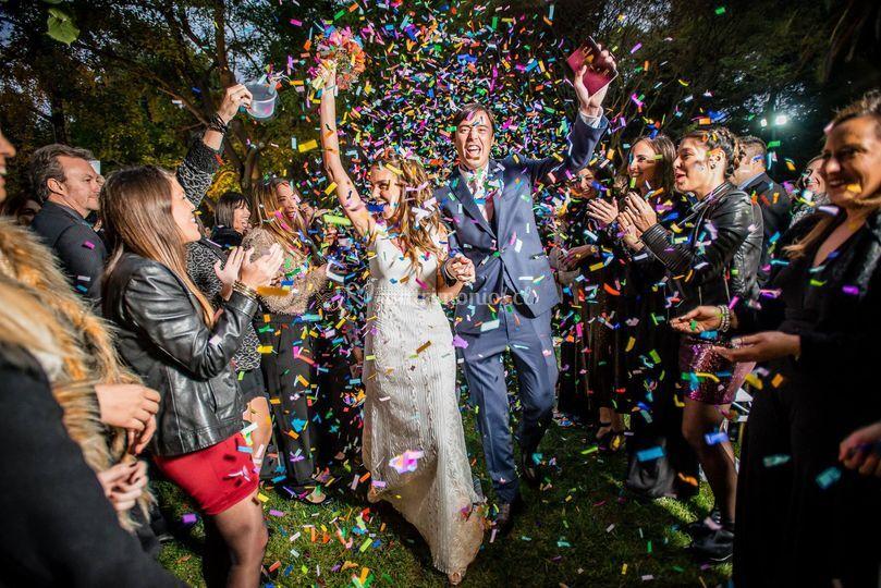 Confetti para matrimonios