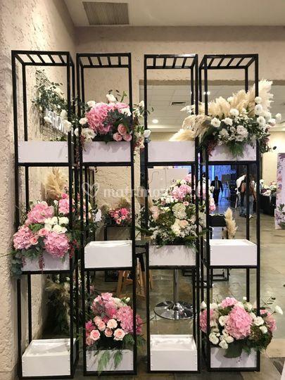 Instalación floral Casa Piedra