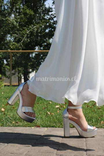 Zapato ainhoa, taco 12 cm