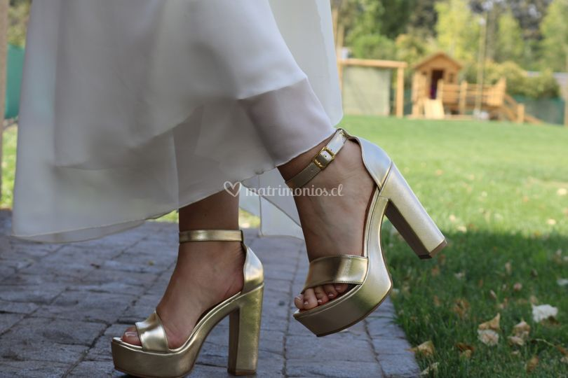 Zapato fernanda, taco 12 cm