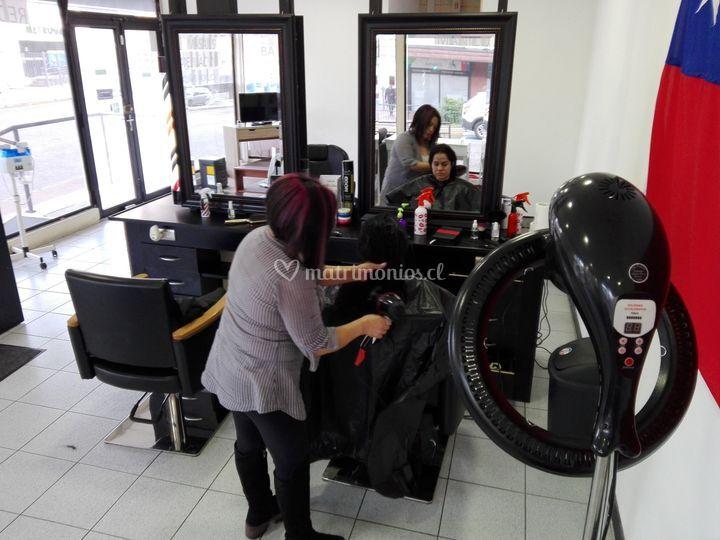 Salón de cabello dama