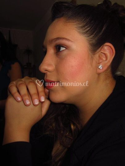 Maquillaje de prueba novia