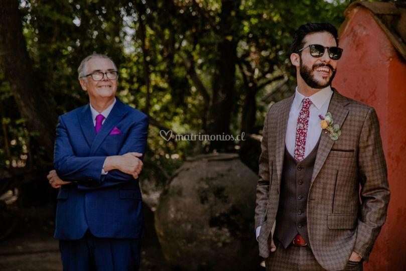Tomás Sastre, novios con estilo