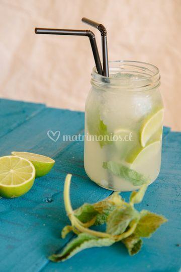 Limonadas y cócteles