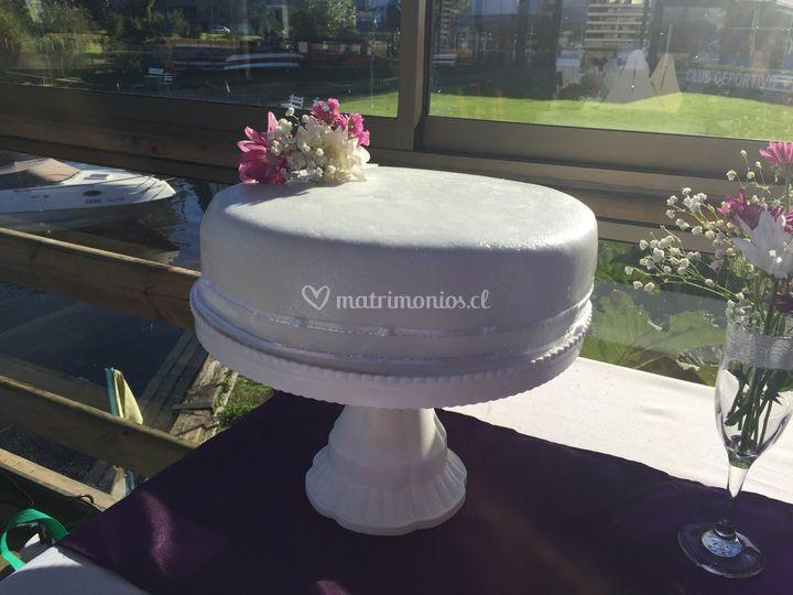 Torta matrimonio 120 personas