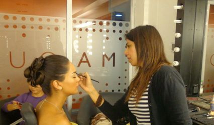 Caro Labrín make-up