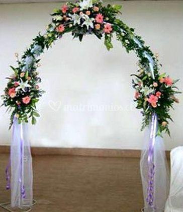 Arco decorado