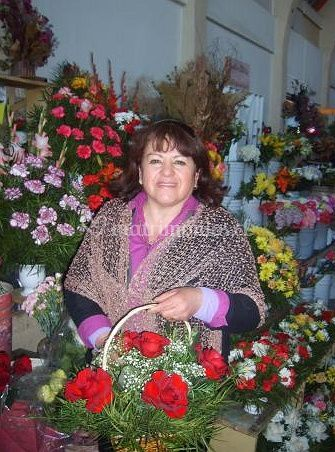 Variedad de flores de Florería Karlita