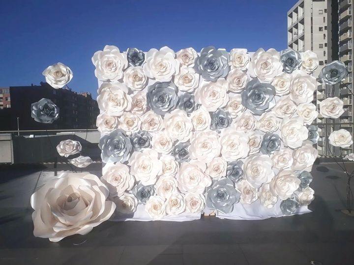 Mural 3 mts para Boda