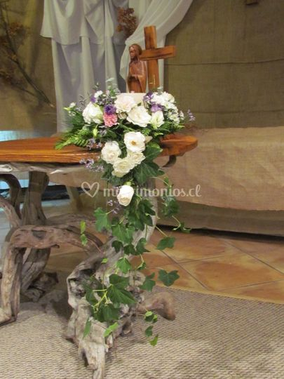 Centro de mesa boda civil