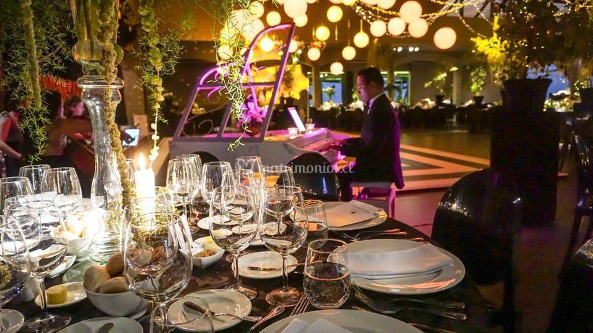 Pianista para la cena