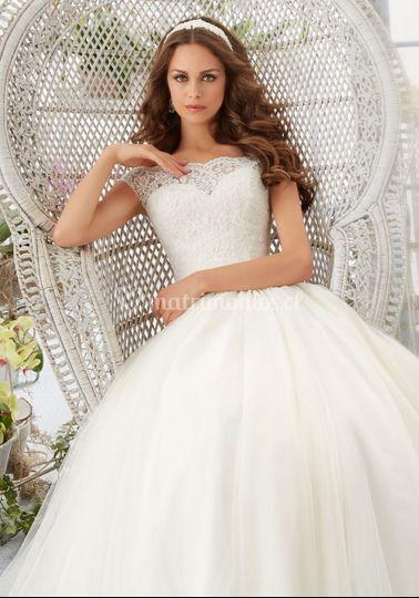 """Vestido de novia """"MoriLee"""""""