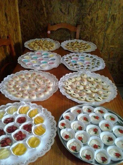 Variedades dulce y salado