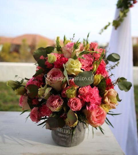 Arreglo floral mesa