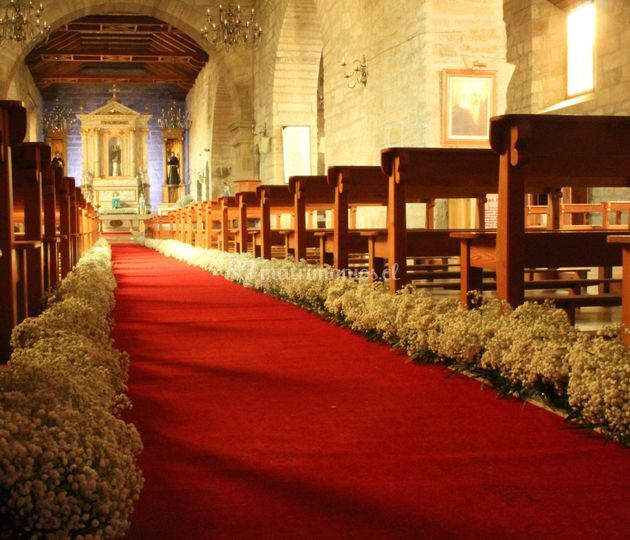 Camino al altar boda religiosa